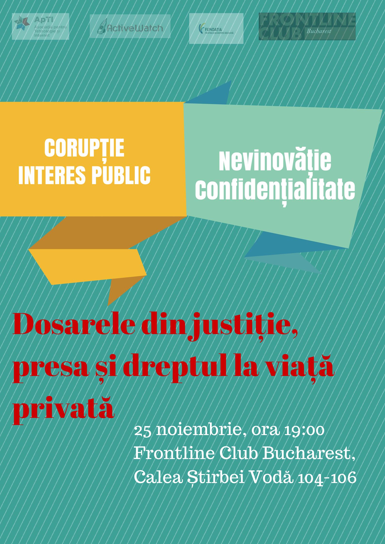 Afis dezbatere 25 noiembrie 2014