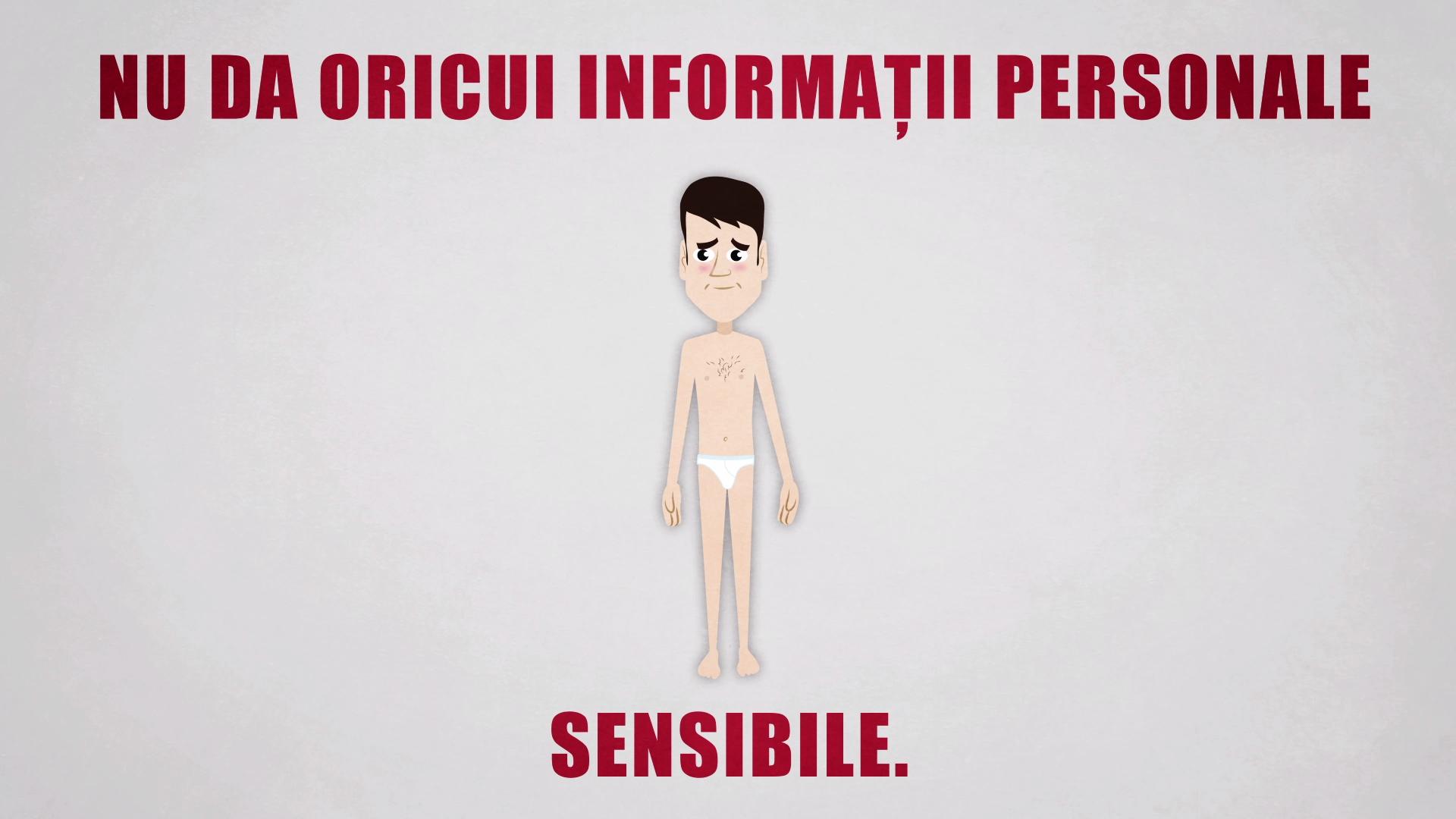 informatii personale sensibile